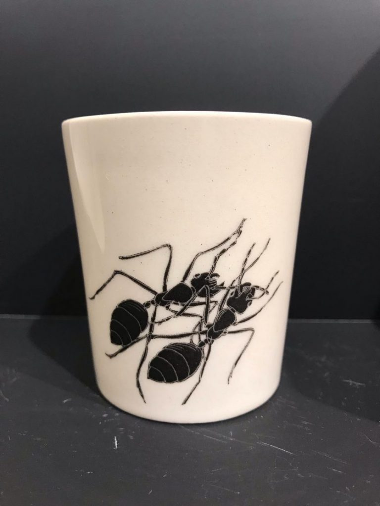 """Cup """"The Ants by Ivan Lazarov"""" – Small"""