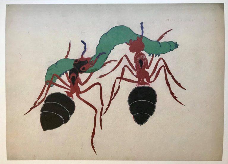 "Print ""The Ants by Ivan Lazarov"" No 2"