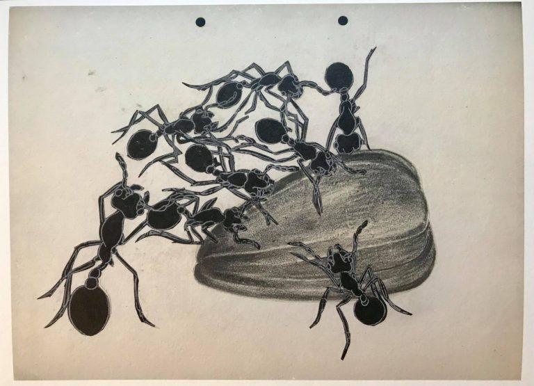 "Print ""The Ants by Ivan Lazarov"" No 3"