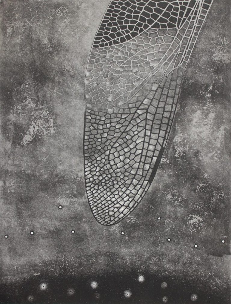 Air 3 – Etching, Aquatint, 50×66