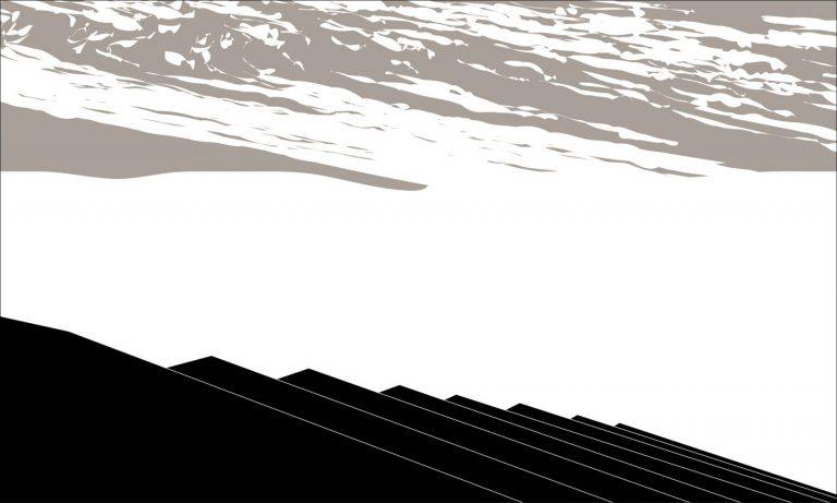 Дневна светлина 6, 2018, пигментен печат върху хартия, 45 х 75 см, рамкирана