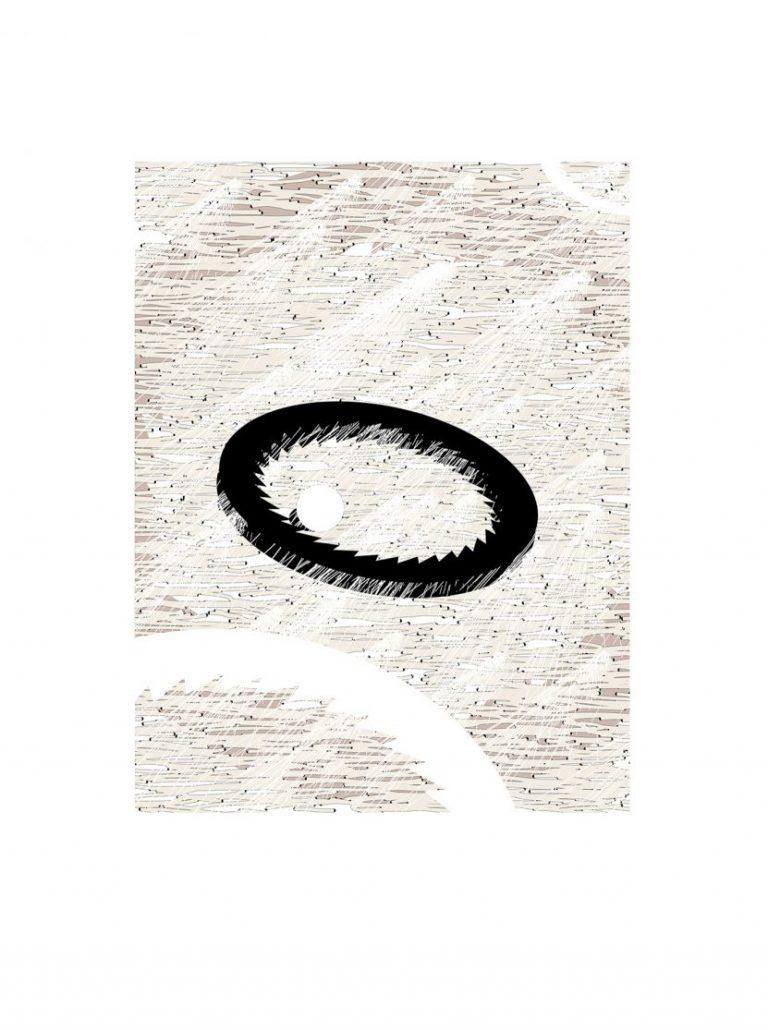 Proof 2, 2018, Archival Pigment print on Fine Art Paper, 40 x 30 cm.