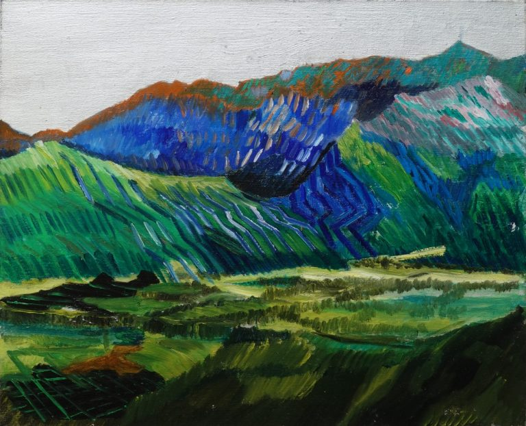 Pirin Invaders I, 2020, Oil on canvas, 33 х 41 cm.