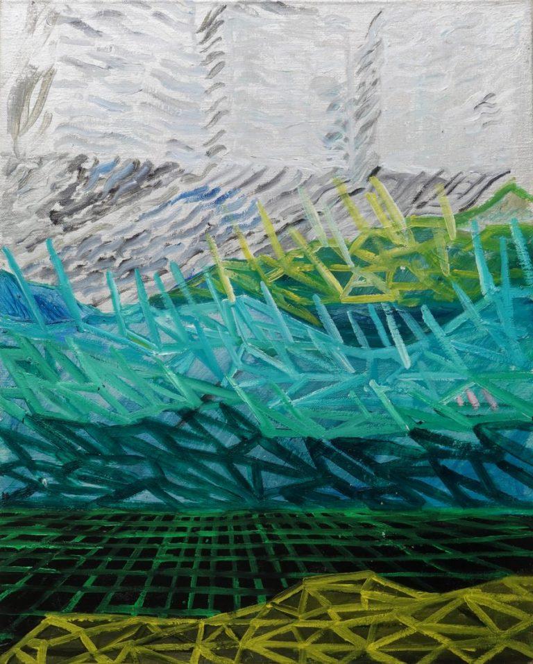 Pirin Invaders II, 2020, Oil on canvas, 41 х 33 cm.