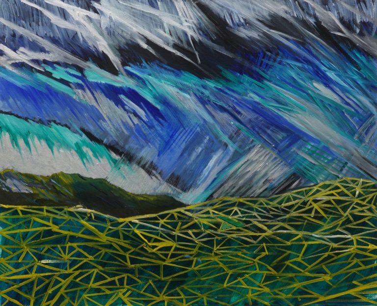 My Mythology of Pirin, 2020, Oil on canvas, 81 х 100 cm.