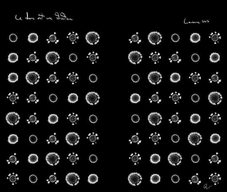 LE CHAOS EST UNE STRUCTURE, 2017, photography, pigment print on paper, edition of 5, 60 x 60 cm.
